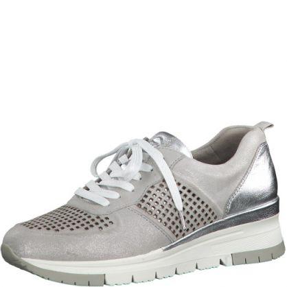 Sneaker Zilver / Metallic