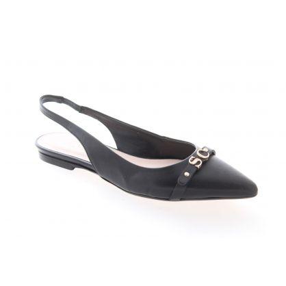 Peep Heel Noir