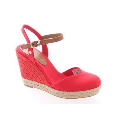 Peep Heel Rouge