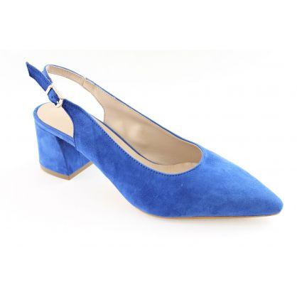 Peep Toe / Peep Heel Blauw