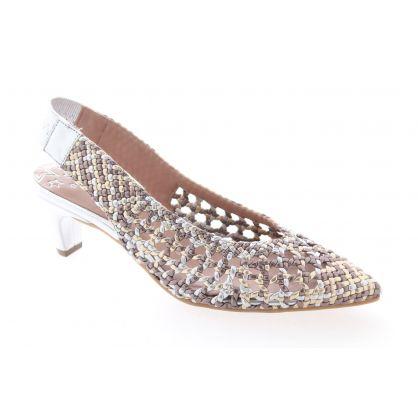 Peep Toe / Peep Heel Zilver / Metallic