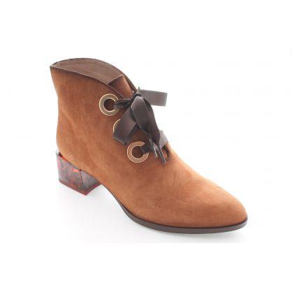 Low Boot Cognac