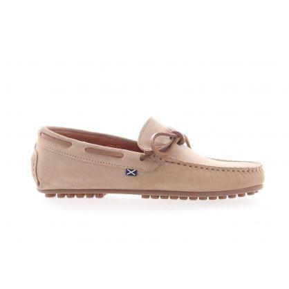 Chaussure de bateau Beige