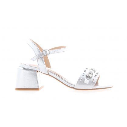 Sandale Argent/Métallique