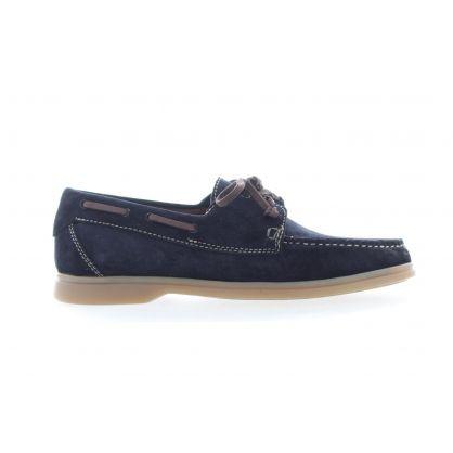 Chaussure de bateau Bleu