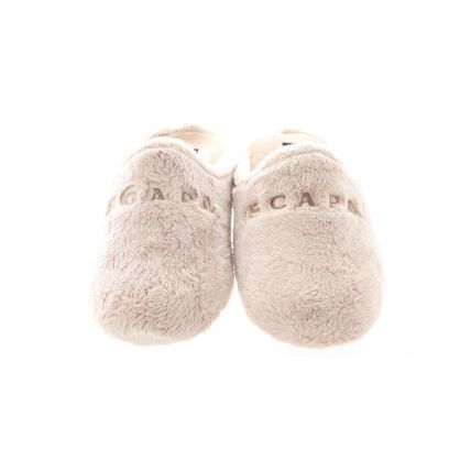 Pantoffel Beige/Ecru