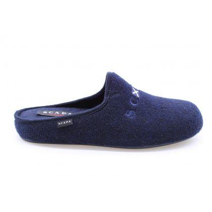 Pantoufle Bleu
